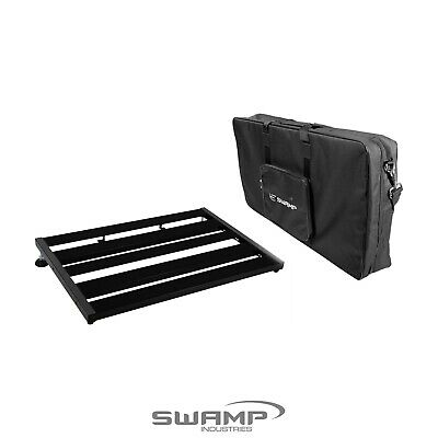 SWAMP Medium-Large Guitar Effect Pedal Board Bridge with Padded Carry Bag