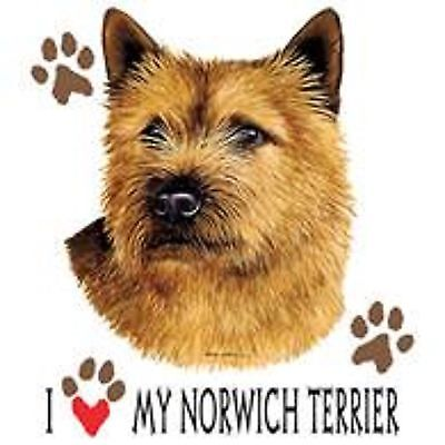 Norwich Terrier Love Tote