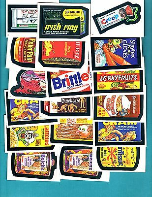 1982n Topps Wacky Packages - Album Stickers - Lot of 71 Stickers