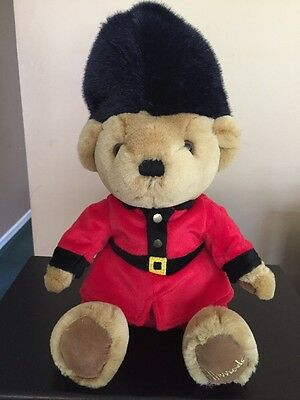 Harrods of Knightsbridge plush teddy bear Royal Palace Guard 13""
