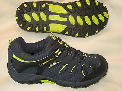 Merrell Chameleon Low Lace Waterproof Hiker Shoe Boys Sz 5.5 EUR 36.5
