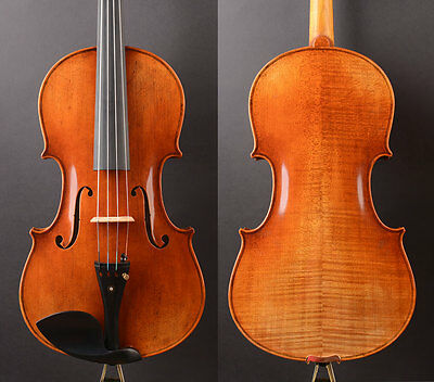 "Deep open warm!A Big Size 17"" Viola T20 430mm Body ! Professional tone!"
