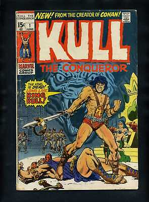 Kull the Conqueror (V1) #1 VG 1971 Marvel Comic Book