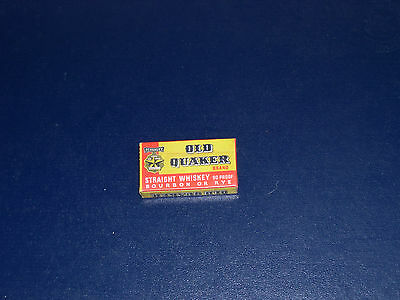 Old Quaker whiskey three pack razor blades Great little give away