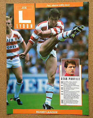 WINNERS Champions Sport picture Rugby Wigan Warriors JOE LYDON