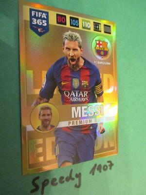 Fifa 2017 Limited Edition Premium 365 Messi Blond Barcelona 16 17 Panini