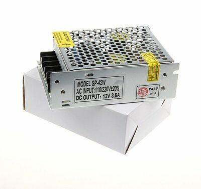 AC/DC Voltage 12V 3A 36W Universal Regulated Switch Converter LED Power Supply