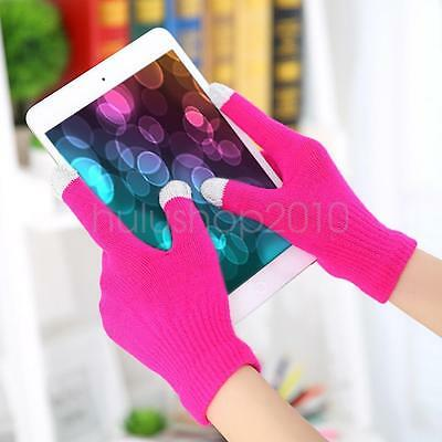 New Mens Sports Running Windproof Touch Screen Winter Driving Gloves Full Finger
