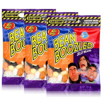 Jelly Belly Bean Boozled Jelly Beans 54g Beutel 4TH Edition (3er Pack)