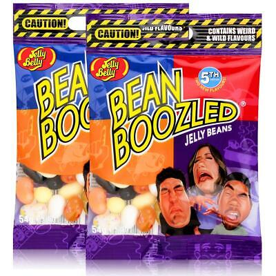 Jelly Belly Bean Boozled Jelly Beans 54g Beutel 4TH Edition (2er Pack)