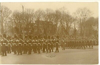 R/P  Postcard  GUARDS MARCHING