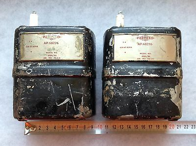 Parmeko 45H 85mA Oil filled Smoothing Choke Inductor Transformer Pair