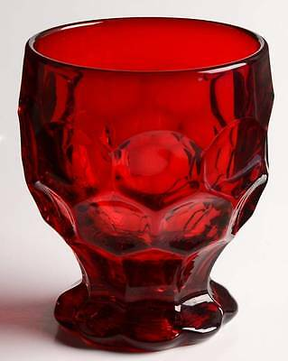 Imperial Glass Ohio PROVINCIAL DARK RUBY Tumbler 237643