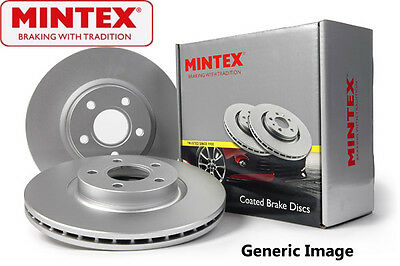 To Clear - New Mintex Front - Oe Quality Coated Brake Discs Mdc768C