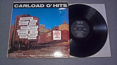 Carload O'hits - Compilation Lp- Muse Records Usa- Muse 500- Lee Allen Etc.