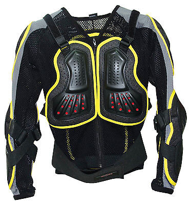 New Youth Body Armour Jacket - Mtb Downhill Skate Scooter Bmx Cycle - 2 Sizes