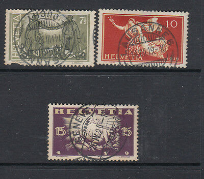 Three very nice old 1919 Peace Issues