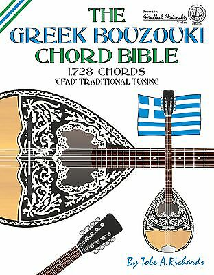 Greek Bouzouki Chord Bible 1,728 Chords
