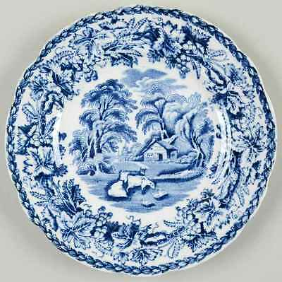 Booths BRITISH SCENERY BLUE Bread & Butter Plate 3477982