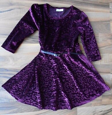 Girl's purple party dress age 7