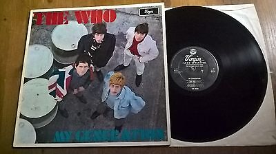 The Who - Lp - My Generation - Virgin Records Uk- V2179