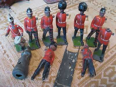lead soldiers.vintage lead.toy soldiers.spare parts
