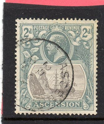 ASCENSION GV 1924-33 2d grey-black & grey sg 13 USED