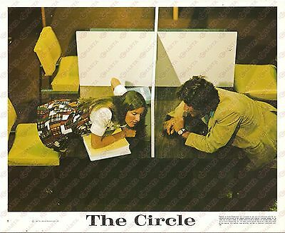 1972 THE CIRCLE Movie Tom MOYER Students in the study room *Foto seriale 25x20