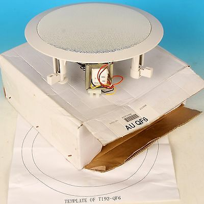 Australian Monitor AU QF6 ceiling speaker 100v White