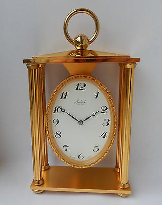 Imhof Gold plated Mantel clock  2623