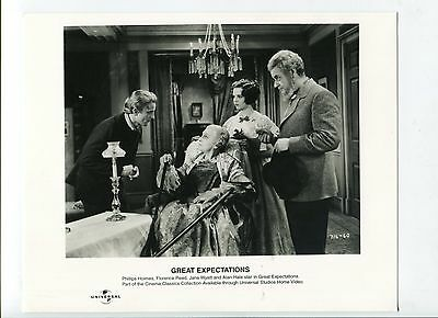 Great Expectations-Phillips Holmes, Florence Reed, and Alan Hale-8x10-B&W-Still