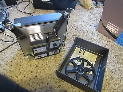 Bell & Howell 458 A Super 8 & Regular 8mm Slow Motion Movie Projector