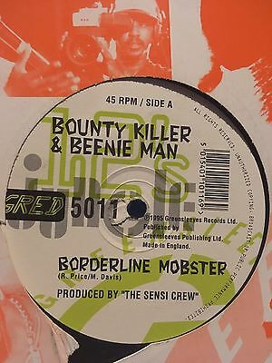 Bounty Killer & Beenieman : Borderline Mobster