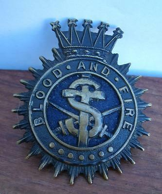Victorian Blood And Fire  Salvation Army Cap Badges