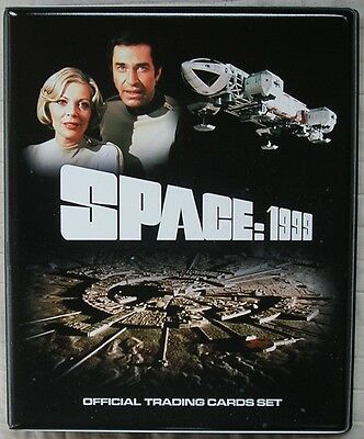 Space 1999 Trading Card Binder with Full 54 Card Base Set + 9 Card Mirror Foil