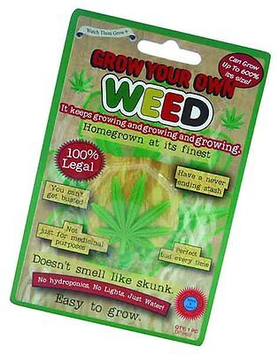 Grow Your Own Weed - Novelty Xmas Office Party Secret Santa Fun Gift DP0422A