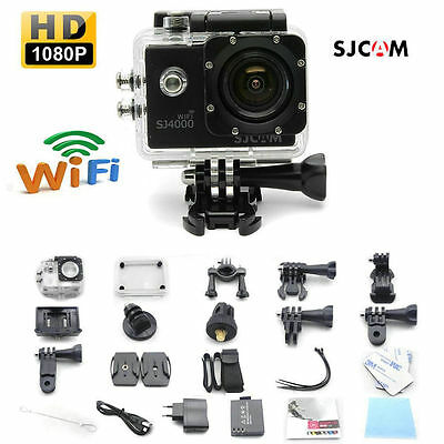 SJCAM SJ4000 WIFI 1080P 12MP Original Sports DV Cam Action Recording Cameras