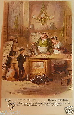 Antique  Postcard  - In Dickens Land - David Copperfield Chapter Xi - Tuck 6047