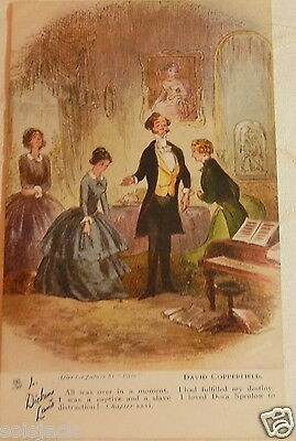 Antique  Postcard  - In Dickens Land - David Copperfield Chapter Xxvi Tuck 6047
