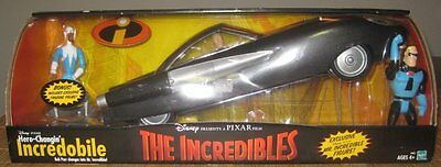 Disney The Incredibles Hero-Changin Incredobile Mr Incredible & Frozone Figure