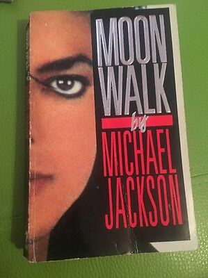 Moon Walk By Michael Jackson Book