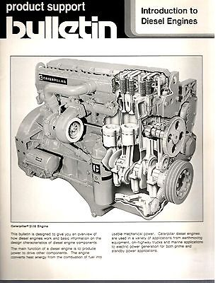 Caterpillar Product Support Bulletin Introduction To Diesel Engines 1989 9940E