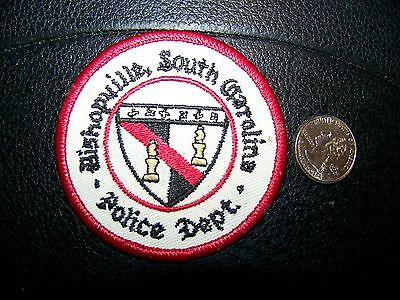 Bishopville, Sc Police Patch