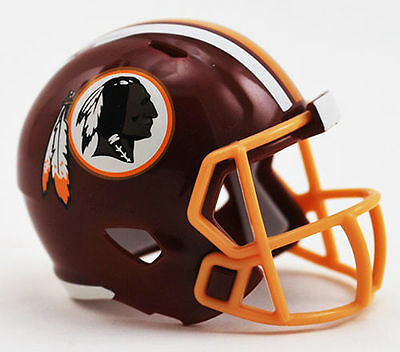NFL American Football INTERNATIONAL SERIES Pocket Helmet WASHINGTON REDSKINS