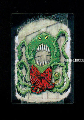 Disney Haunted Mansion Stretching Portrait Nightmare NBC Evil Wreath Pin