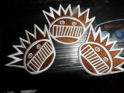 Ween Boognish Patches Set of 3 exclusive New brown