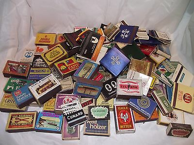 VINTAGE MATCHBOOK COVERS and MATCHBOXES ETC LOT 6
