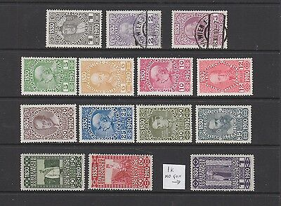 Austria 1910 Birthday to 1k MH or fine used