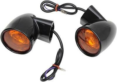 DS Bullet-Style Turn Signals Rear Harley FLHTK Ultra Limited 10-13