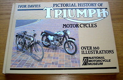 Pictorial History Of Triumph Motorcycles. Over 160 illustrations. Ivor Davies